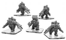 Assault Apes & Rocket Ape  Monsterpocalypse Empire of the Apes Units (metal)